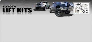 "96 04 Toyota Tacoma 2 1 2"" Lift Kits with Rear Shocks"