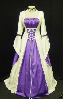 Medieval Gothic Renaissance Wedding Dress Handfasting