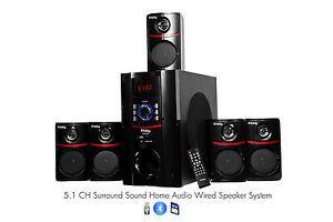 Frisby FS5010BT 800Watt Bluetooth 5 1 Surround Sound Home Theater Speaker System