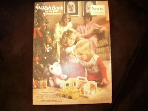 1980 Wish Book Christmas Catalog Snoopy on Cover Toys