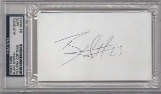Blake Griffin Index Card Signed Autograph PSA DNA Slabbed