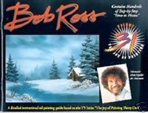 "Bob Ross ""Joy of Painting"" Instructional Book Volume 31"