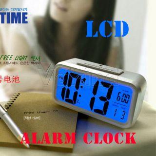 Sensor Energy Saving Alarm Clock Light Control Automatic Light LCD Screen