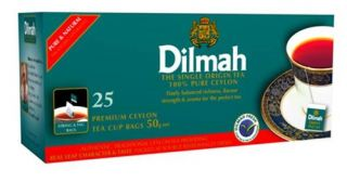 Sri Lanka Tea Dilmah Black Tea 25 50 100 Tea Bags