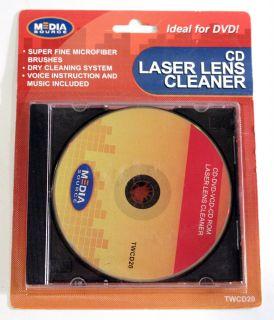 Media Source CD DVD Laser Lens Cleaner Disc Clean PlayStation Xbox Lens
