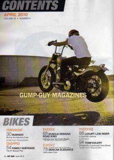 Hot Bike 2010 Bushido Tom Foster Killer Rigid Low Rider 97CI Big Bore Kit Harley