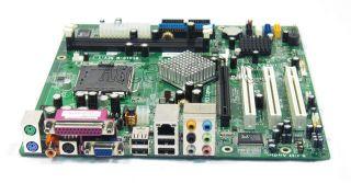 ECS RC410 M V1 1 LGA775 DDR2 800FSB PCI E x16 SATA VGA LPT SPDIF Motherboard