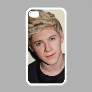 New Hot Niall Horan One Direction White Case Cover for iPhone 4 iPhone 4S