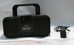 Insignia NS B3112A Boombox with Apple iPod iPhone Dock CD Player Radio Black Blk