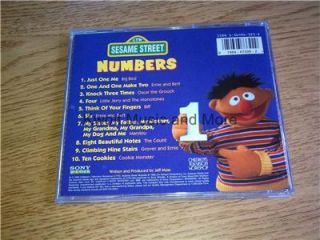Sesame Street Numbers Original CTW Sony Wonder LK 67339 CD 1995