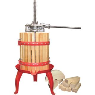 Double Ratchet Fruit and Wine Press Model 05 0101 New