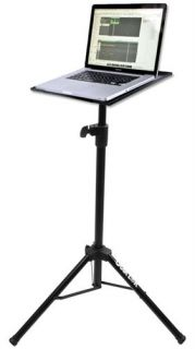 Quik Lok LPH001 Multi Function Tripod Laptop Stand DJ Laptop Stand