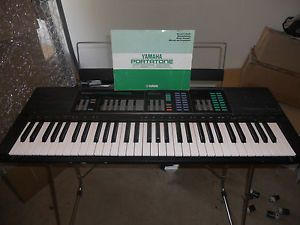 Yamaha PSR 32 Electronic Keyboard LS 2 Keyboard Stand Manual AC Adapter