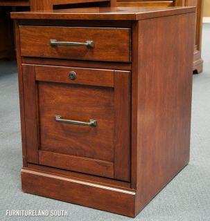Hooker Furniture Co Computer Credenza with Hutch and Mobile File 5 Piece Set