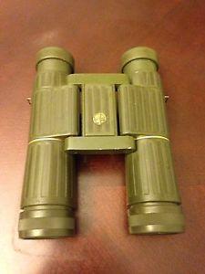 RARE Vintage Leupold 9X25A Gold Ring Binoculars Leica Lenses