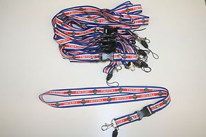 6 Costa Rica Country Flag Lanyards Keychains 20 inches Long New