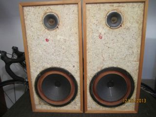 Pick Up Only Stereo Loudspeakers Speakers Vintage Fisher XP 5