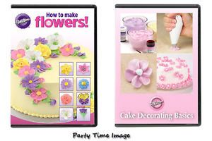 Wilton DVD Cake Decorating Student Learning Teaching