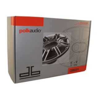 Polk Audio Speakers DB691 6x9 Car Marine New