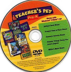 Teacher Pet Pre K Bailey Book Millie Math Sammy Science Trudy Time Place House