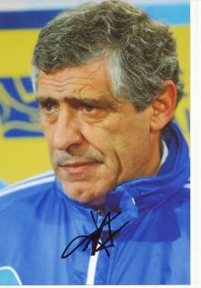 Fernando Santos Griechenland Nationalteam Foto Mit Unterschrift 145361 Mik