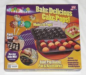 Bake Pops Brand New as Seen on TV Cake Pops Pan Accessories