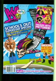 2008 WWE Kids Magazine John Cena HBK Rey Mysterio The Silliest Wrestlers