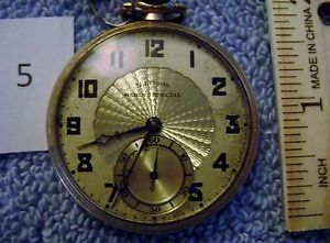 Illinois Marine Special Pocket Watch