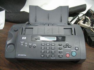 hp 1040 fax machine ink