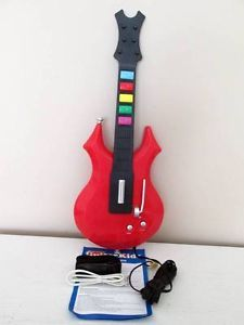 Plug Play Play Along Guitar Plug Into TV Game 10 Built in Songs  Create