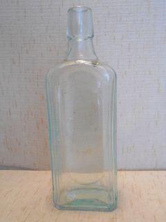 Antique Cardui Woman's Tonic Chattanooga Medicine Co Aqua Medicine Bottle
