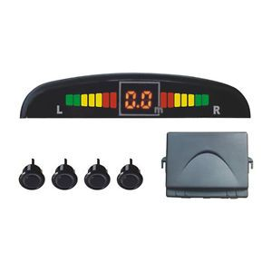 Ultrasonic Parking Reverse Backup Sensor Warning Alarm System LED Display US