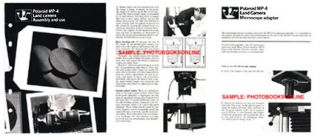 Polaroid MP 4 MP4 Land Camera Instruction Manual