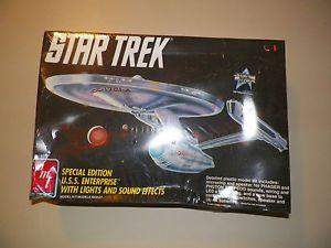 Star Trek USS Enterprise NCC 1701A Light and Sound Kit by AMT 1991 New
