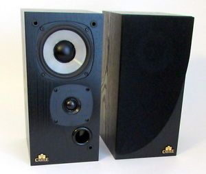 Castle Acoustics Isis Bookshelf Speakers