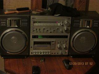 Vintage Fisher Ph 492 Ghettoblaster Boombox
