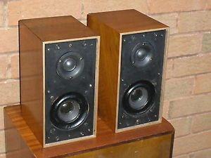 Vintage Goodmans Maxim Bookshelf Speakers Alnico Version VGC