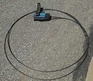 Vintage Mercury Shifter Throttle Control with Cables 14'