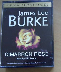 James Lee Burke Cimarron Rose Audio Book Four Cassettes Read by Will Patton