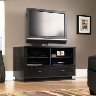 espresso tv stand flat screen 60 inch television entertainment center new dlp 52. Black Bedroom Furniture Sets. Home Design Ideas