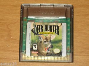Deer Hunter Interactive Hunting Experience Nintendo Game Boy Color 1999 681313062314
