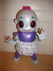 Tiger Electronics Robo Baby Crawls Sings Interactive