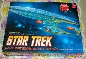 Star Trek USS Enterprise NCC 1701D Model Kit 1 1400