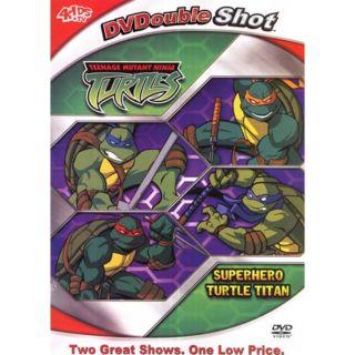 Teenage Mutant Ninja Turtles Superhero Turtle Titan Fullscreen DVD 2 Shows 704400080944