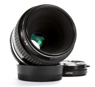 Nikon Micro Nikkor 55mm F3 5 AI Lens 610563625031