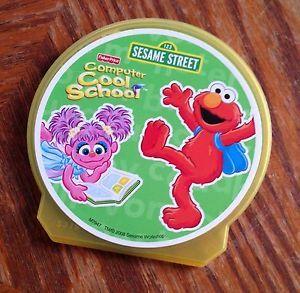 Fisher Price Fun 2 Learn Computer Cool School Sesame Street Elmo Software