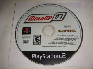 MotoGP '07 PS2 PlayStation 2 Game Disc Only Moto GP E 5055060923979