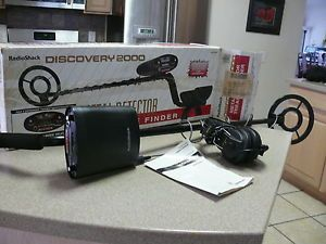 Details about RADIO SHACK METAL DETECTOR DISCOVERY 2000