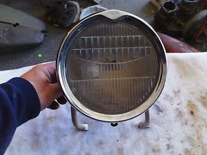 about HARLEY DAVIDSON / OTHER MOTORCYCLE JOHN BROWN HEADLIGHT & MOUNTS