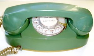Bell Systems Princess Rotary Telephone western Electric Phone